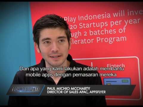 AppsFlyer talks to iNews about mobile marketing in Indonesia - YouTube