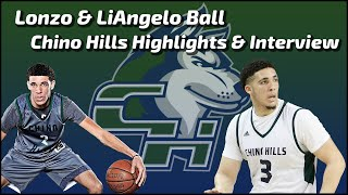 Lonzo Ball, LiAngelo Ball - Chino Hills Basketball - Interviews - Sports Stars of Tomorrow