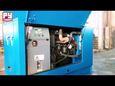 Дизельный генератор 60 кВт (ММЗ) в кожухе