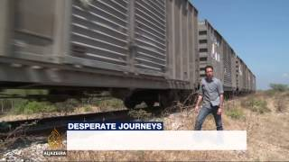 Migrants risk lives on dangerous routes from Mexico to US