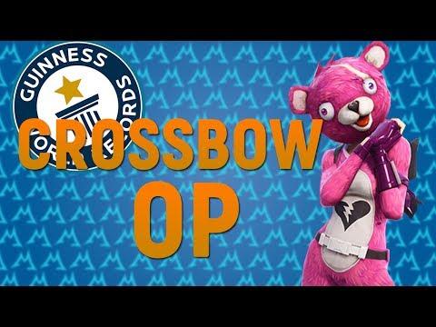 WORLD'S LONGEST CROSSBOW SHOT - CROSSBOW GAMEPLAY OP?!