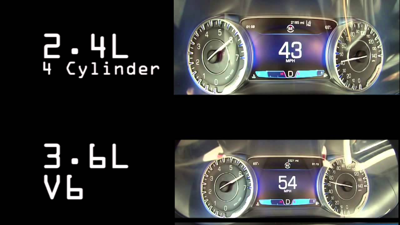 4 Cylinder Vs V Acceleration