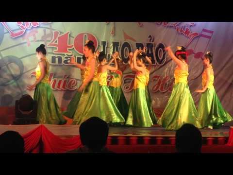 Múa Dân Vũ Dân Gian - Top múa khóm Cao Việt