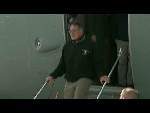 Afghan driver crashes near Defense Secretary Leon Panetta