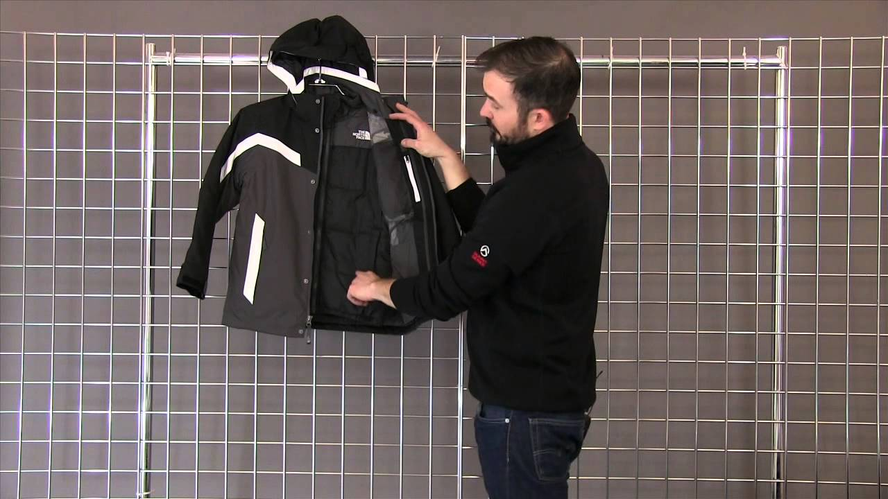 aa07fb3a8044 The North Face Boys Boundary Triclimate Jacket 2014-2015 - YouTube