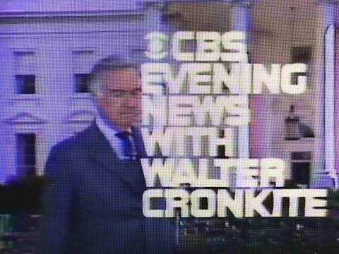 The CBS Evening News With Walter Cronkite - March 26, 1979 - Egypt - Israel Peace Treaty