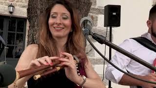 Nathalie Bernat anime la fête à Nasbinals sur l'Aubrac