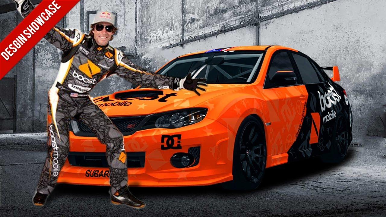 Cool 3d Car Wallpapers Forza Horizon Design Showcase Travis Pastrana Boost