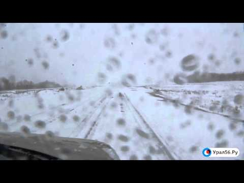 Автодорога под Орском