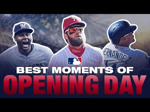 Top Moments of Opening Day 2019
