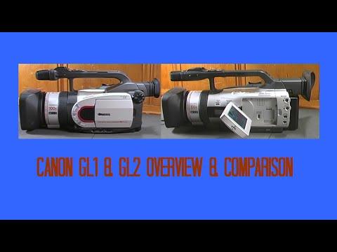 Canon GL1 & GL2 MiniDV Camcorders Comparative Review