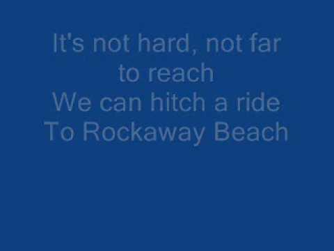 Ramones - Rockaway Beach (Lyrics on screen)