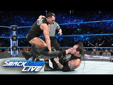 Dillinger interrupts Corbin's U.S. Title Match with Styles: SmackDown LIVE, Sept. 19, 2017