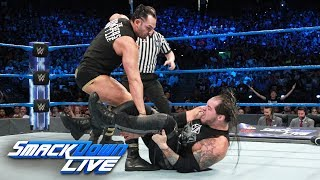 Dillinger interrupts Corbin's U.S. Title Match with Styles: SmackDown LIVE, Sept. 19, 2017 thumbnail