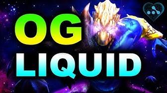 OG vs LIQUID - AMAZING GAME - WeSave! Charity Play DOTA 2