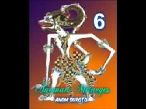 Wayang Kulit Dalang Kondang Anom Suroto Lakon ~ ANOMAN MANEGES Part 68