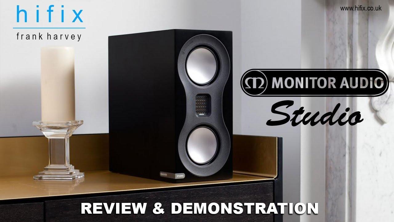 Monitor Audio Studio Standmount Bookshelf Speaker Review And Demonstration