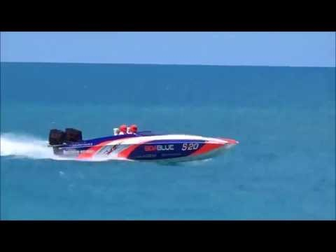 Bermuda Powerboat Racing Offshore Race June 12, 2016