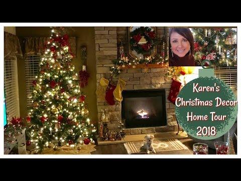 Karen's 2018 Christmas Decor Home Tour | Christmas Home & Lifestyle