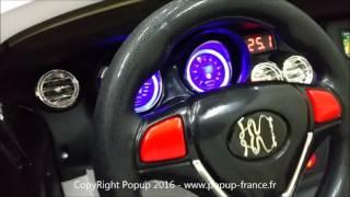 Voiture électrique pour enfants de la marque Popup France