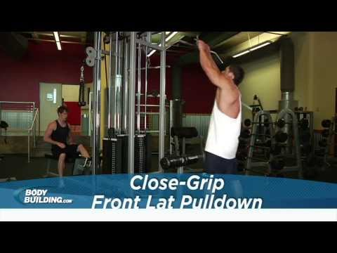 Close Grip Front Lat Pulldown - Back Exercise - Bodybuilding.com