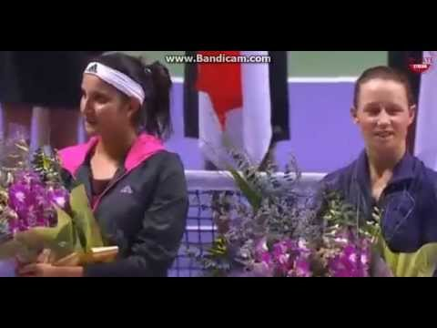 Cara Black Sania Mirza Wins Singapore Finals 2014