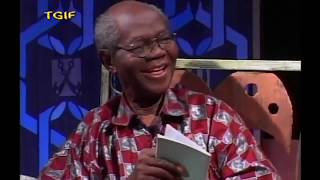 M.anifest & his Grandpa, Prof. Nketia,  rapping on KSM show in 2010
