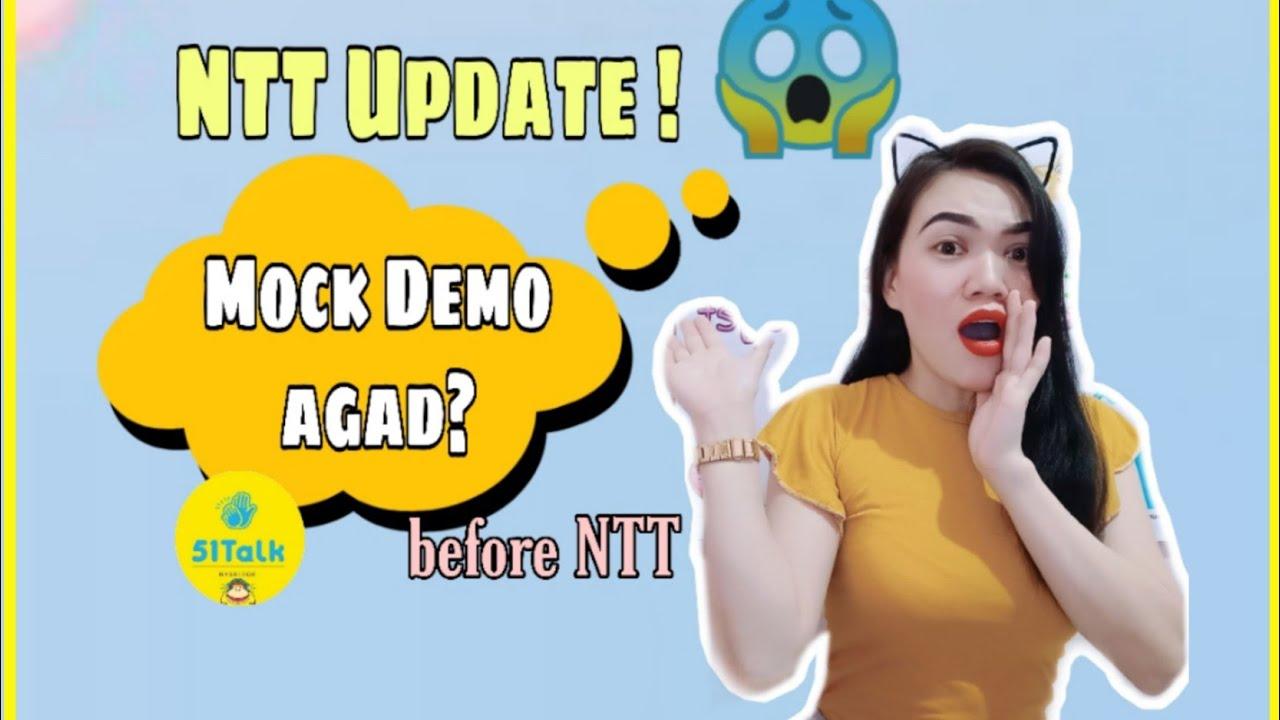 Updated NTT 51talk 😱 Mock Demo agad2 ????