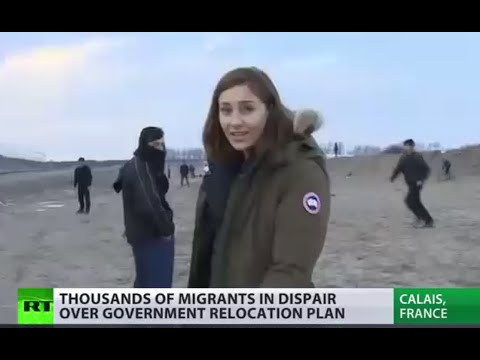 End of Calais 'Jungle'? Migrants in panic & despair over camp relocation plan