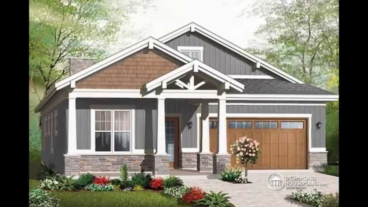 small craftsman bungalow house plan