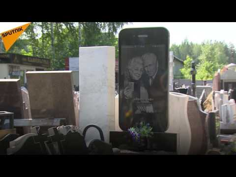 iGravestone? Russian Monument Firm Offers an Extravagant Memorial Stone