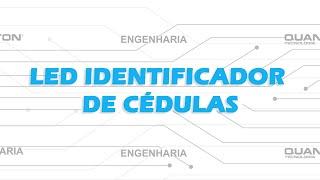 Led identificador de cédulas - Caixas registradoras Quanton