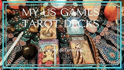 My US Games Systems Tarot Decks