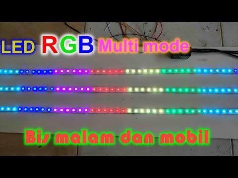 Review Lampu LED RGB Tail Lamp Untuk Bus Malam, Truck Dan Mobil Pribadi