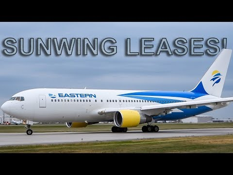 Sunwing SUMMER LEASES in Action at Montreal-Trudeau (YUL/CYUL)