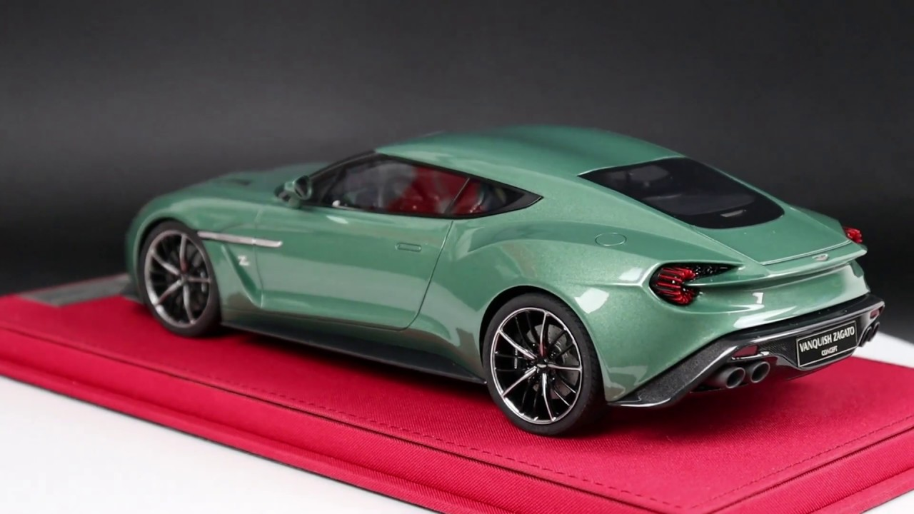 Aston Martin Vanquish Zagato Concept 1 18 Avanstyle By Frontiart Youtube