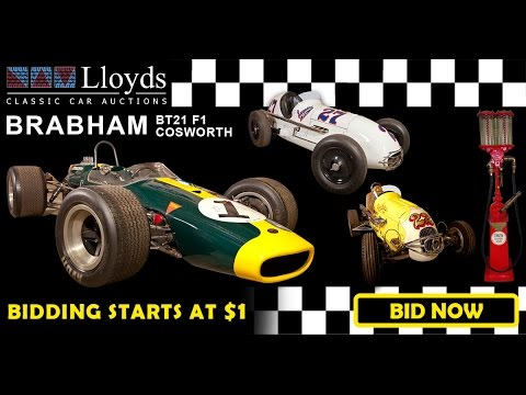 Repco Brabham Formula Race Cars Auction Lloyds Classic Cars