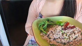 Larb/Laab Spicy Pork Salad Recipe  ลาบหมู - Hot Thai Kitchen!
