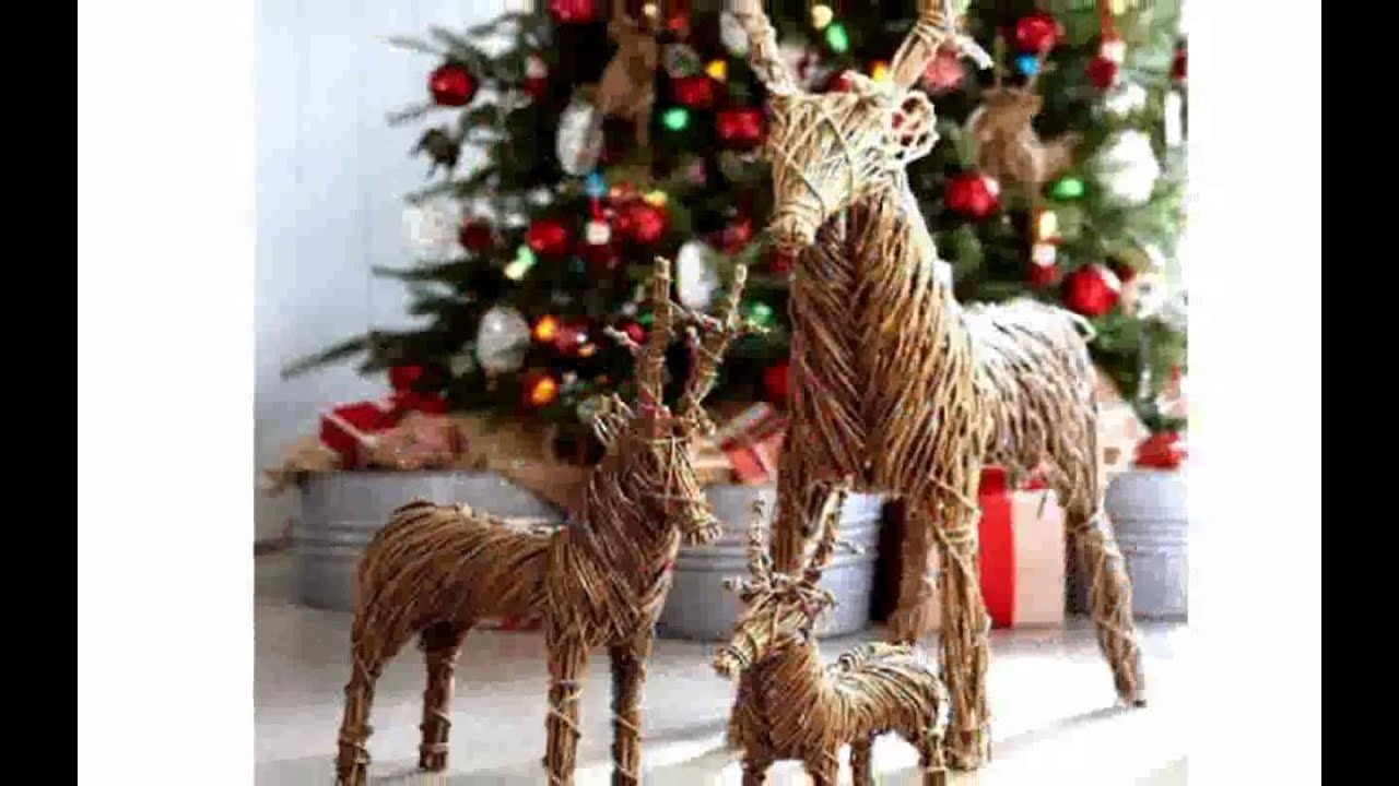 Reindeer Christmas Decorations - YouTube