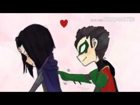 Damian Wayne x Raven Young