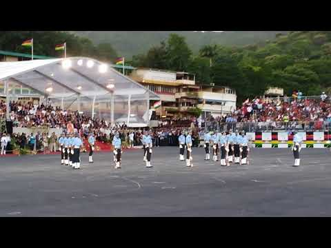 India's performance at 50th independence day of Mauritius in champs de mars