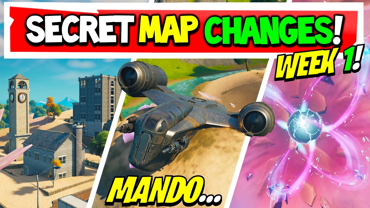 Fortnite Season 5 | SECRET MAP CHANGES | Everything That Changed! Week 1 (Xbox, PS5, PC, Mobile) - download from YouTube for free