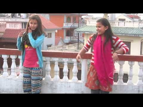 Rosani and Anjila Dancing at Fresh Nepal