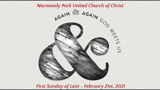 NPUCC Worship for Sunday, February 21st, 2021
