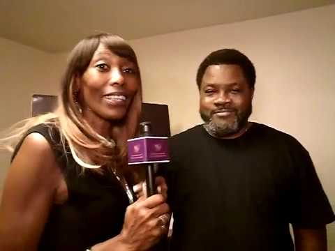 Nessyp with Frederick Harris at A Level up with Velvet Productions 9 27 19