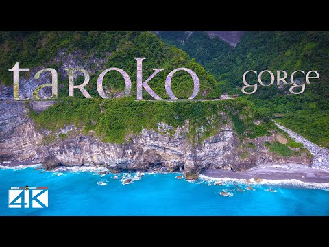 【4K】Taroko Gorge from Above - TAIWAN 2020   Cinematic Wolf Aerial™ Drone Film