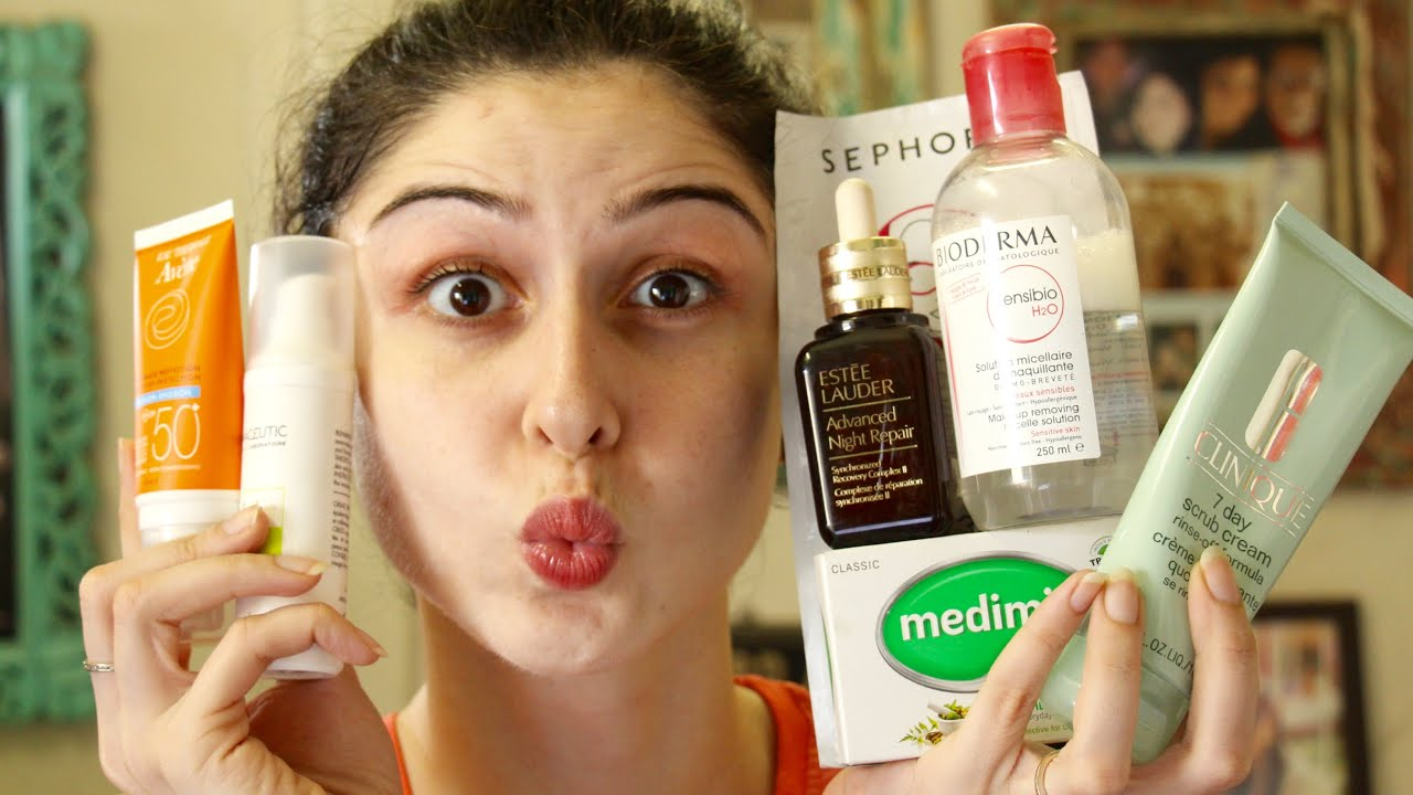 My Skincare Routine Morning Night Youtube