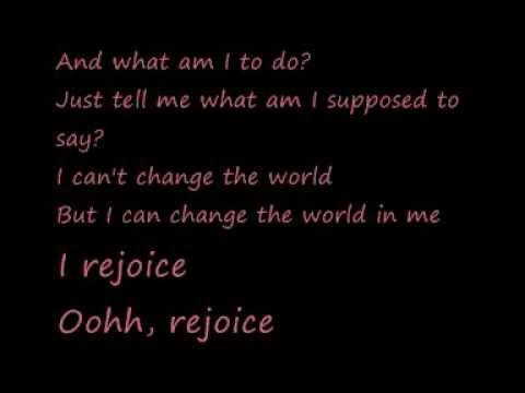 U2-Rejoice (Lyrics)