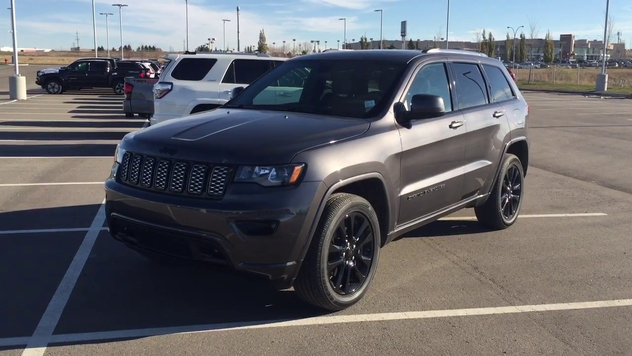 2018 Jeep Grand Cherokee Altitude Iv Review Youtube
