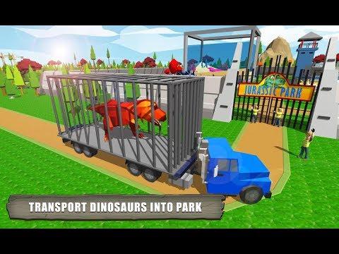 모바일 게임 [쥬라기 공원 만들기] 공룡으로 동물원을 만들거에요!!! 다만들면 자동차를 타고 구경도 할수 있어요!!! 간단 리뷰 & 플레이 영상